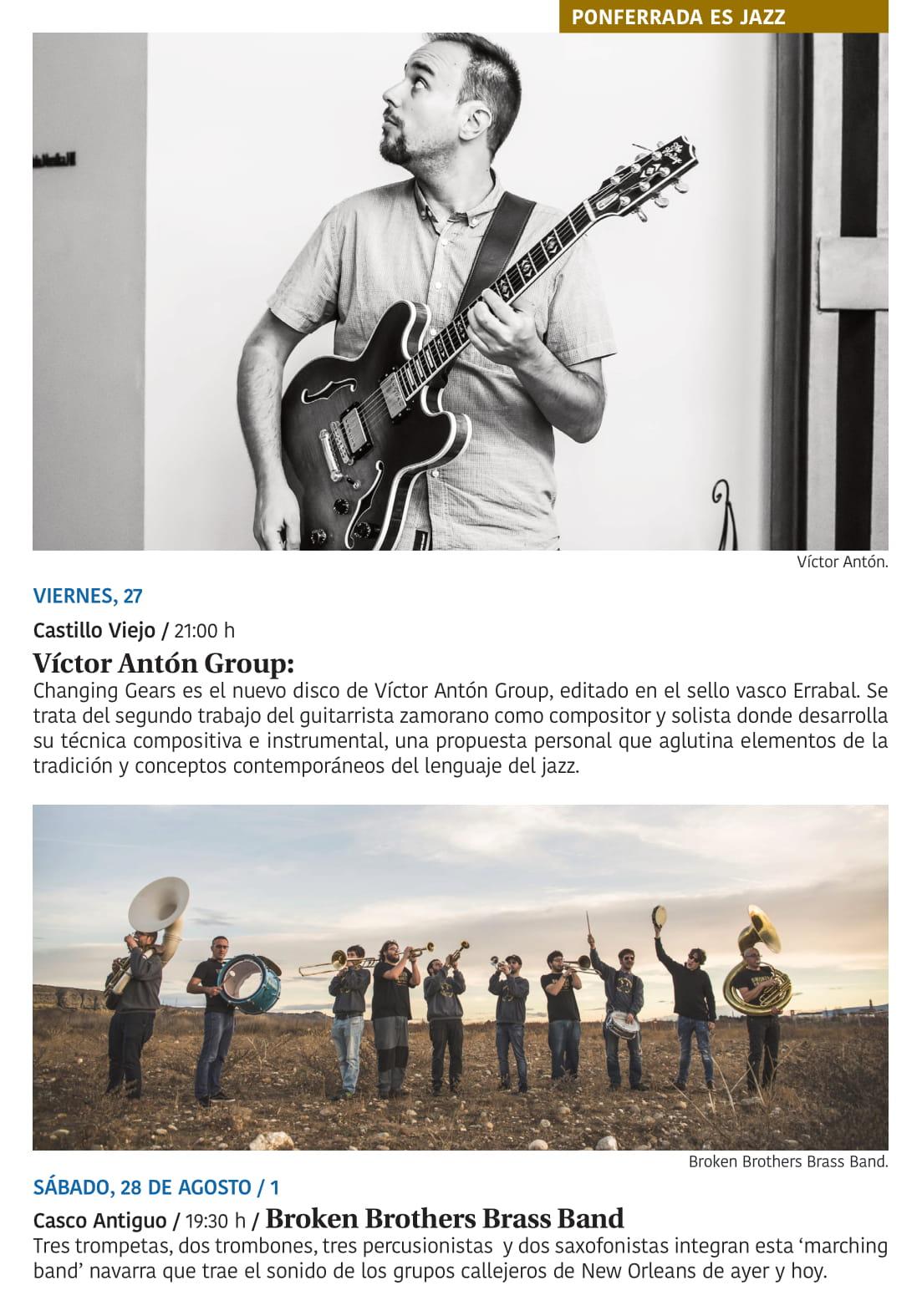 Ponferrada será... música, cultura, monumentos, turismo y más durante el verano de 2021 26