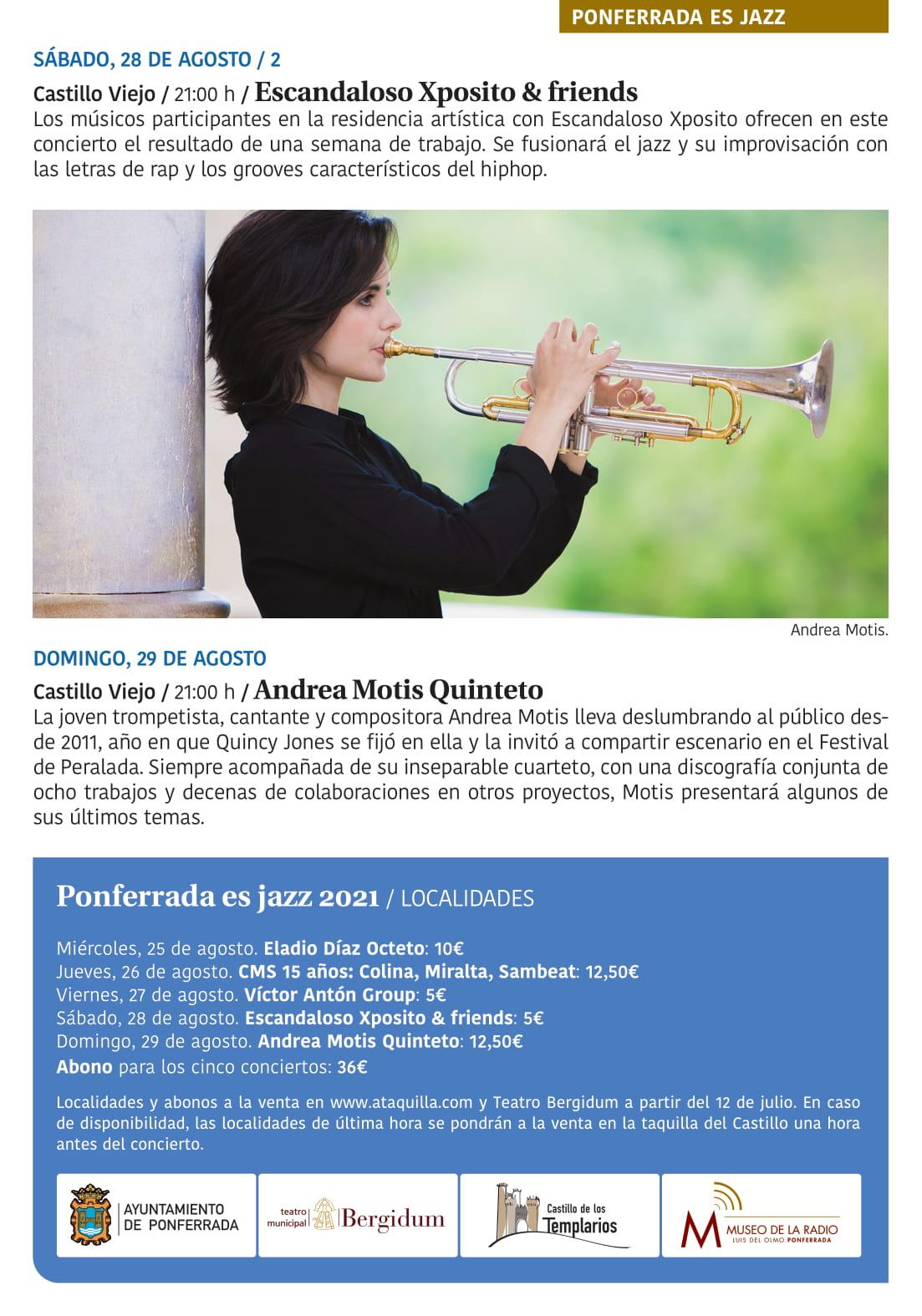 Ponferrada será... música, cultura, monumentos, turismo y más durante el verano de 2021 27