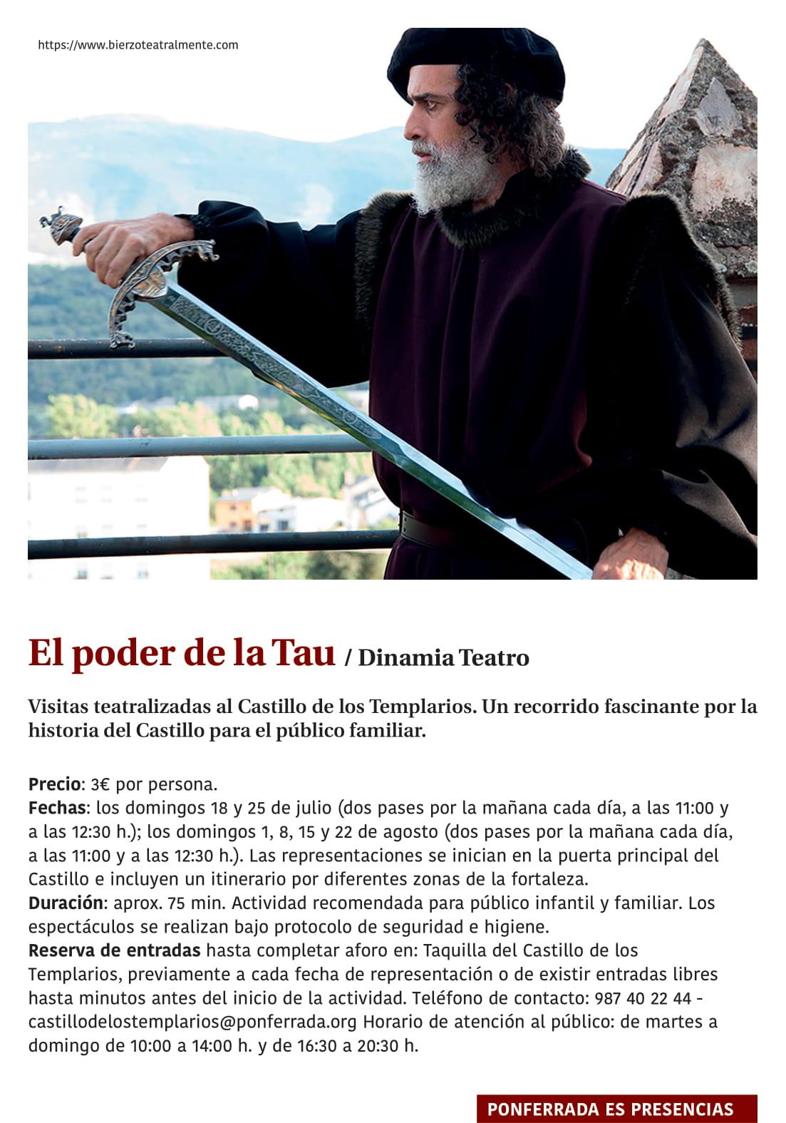 Ponferrada será... música, cultura, monumentos, turismo y más durante el verano de 2021 30