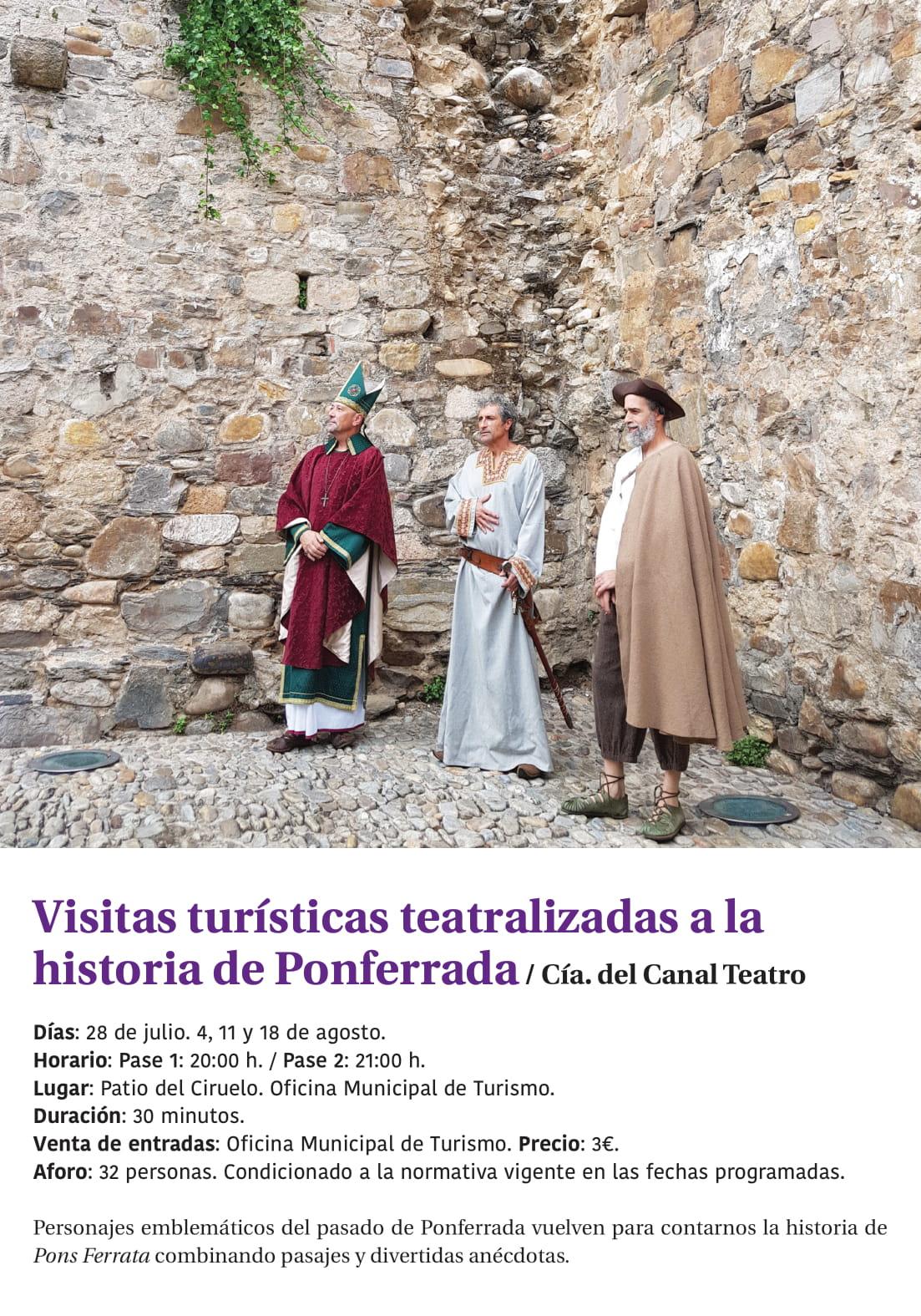 Ponferrada será... música, cultura, monumentos, turismo y más durante el verano de 2021 35