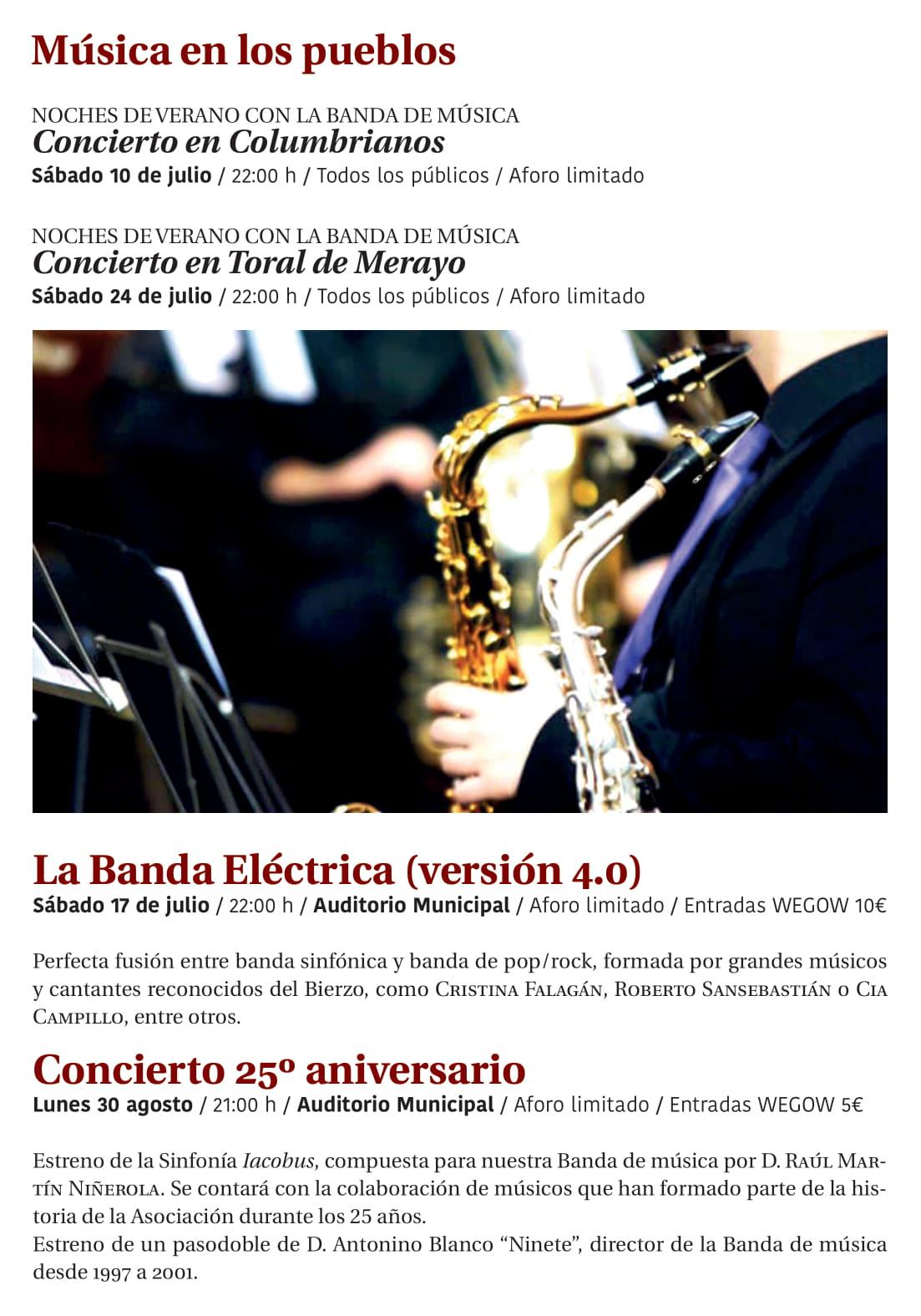 Ponferrada será... música, cultura, monumentos, turismo y más durante el verano de 2021 38