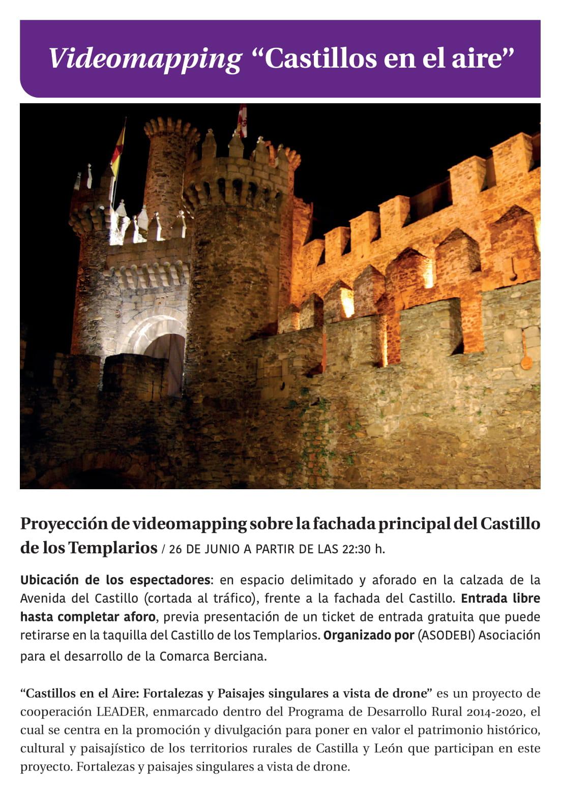 Ponferrada será... música, cultura, monumentos, turismo y más durante el verano de 2021 40