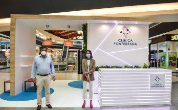 Clínica Ponferrada organiza dos talleres de salud en su stand en El Rosal 10