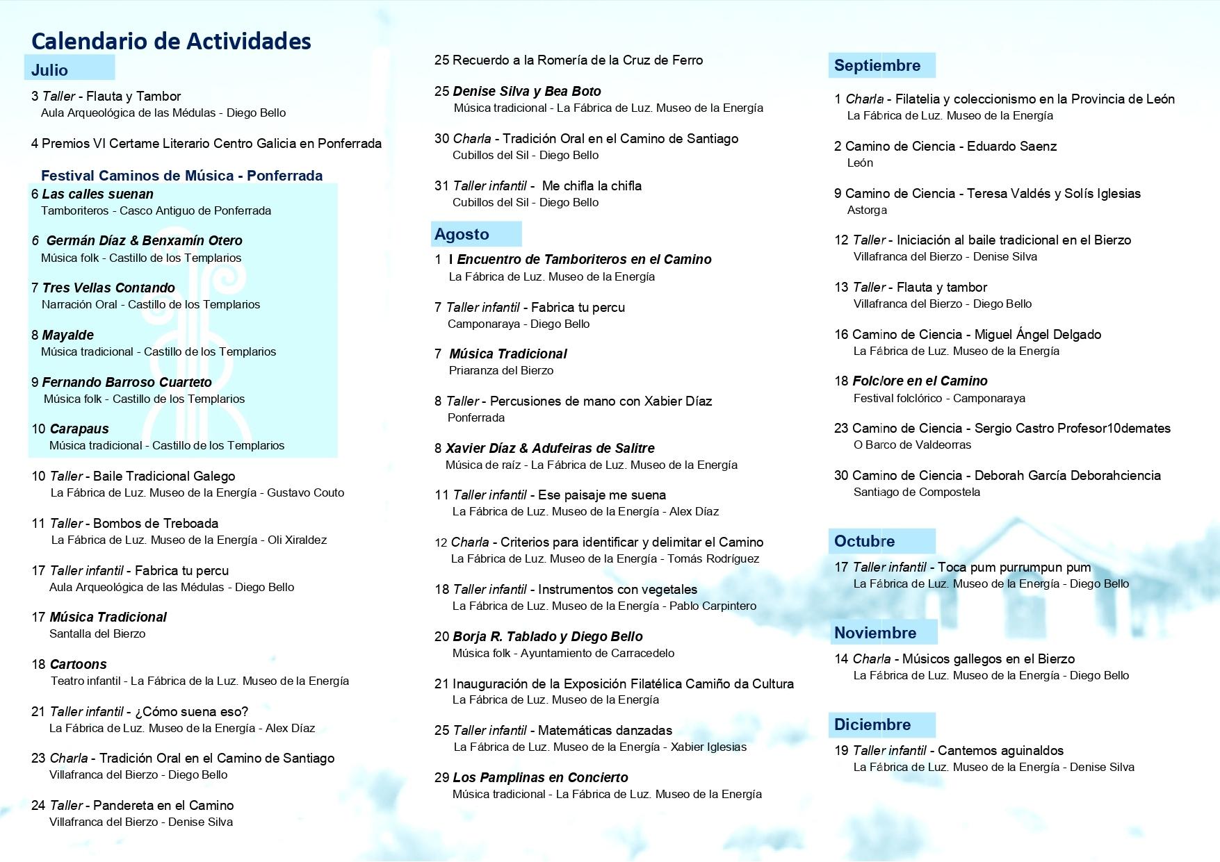 Los actos culturales del Xacobeo 2021 se presentan en el Museo de la Energía 3