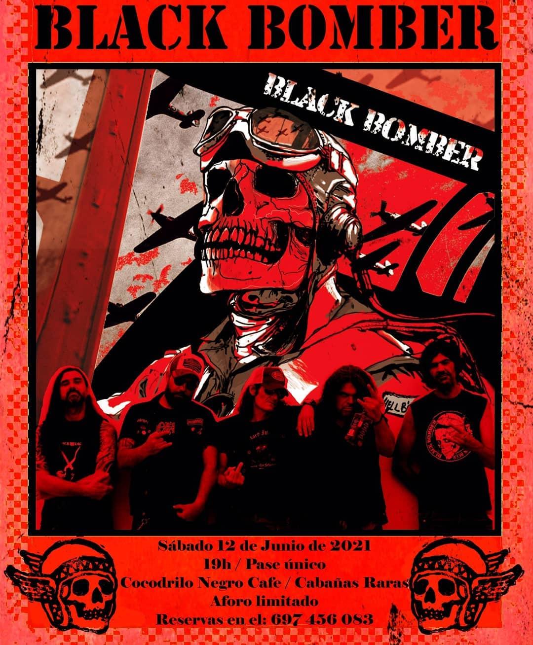 Black Bomber: Motherfucking Hard Rock And Roll from Hell Bierzo en el Cocodrilo café 2