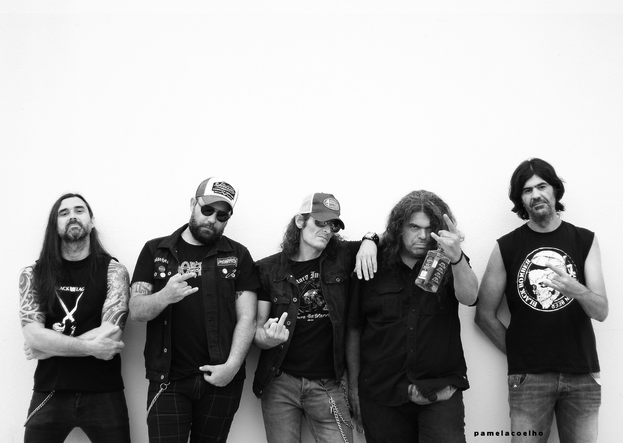 Black Bomber: Motherfucking Hard Rock And Roll from Hell Bierzo en el Cocodrilo café 1