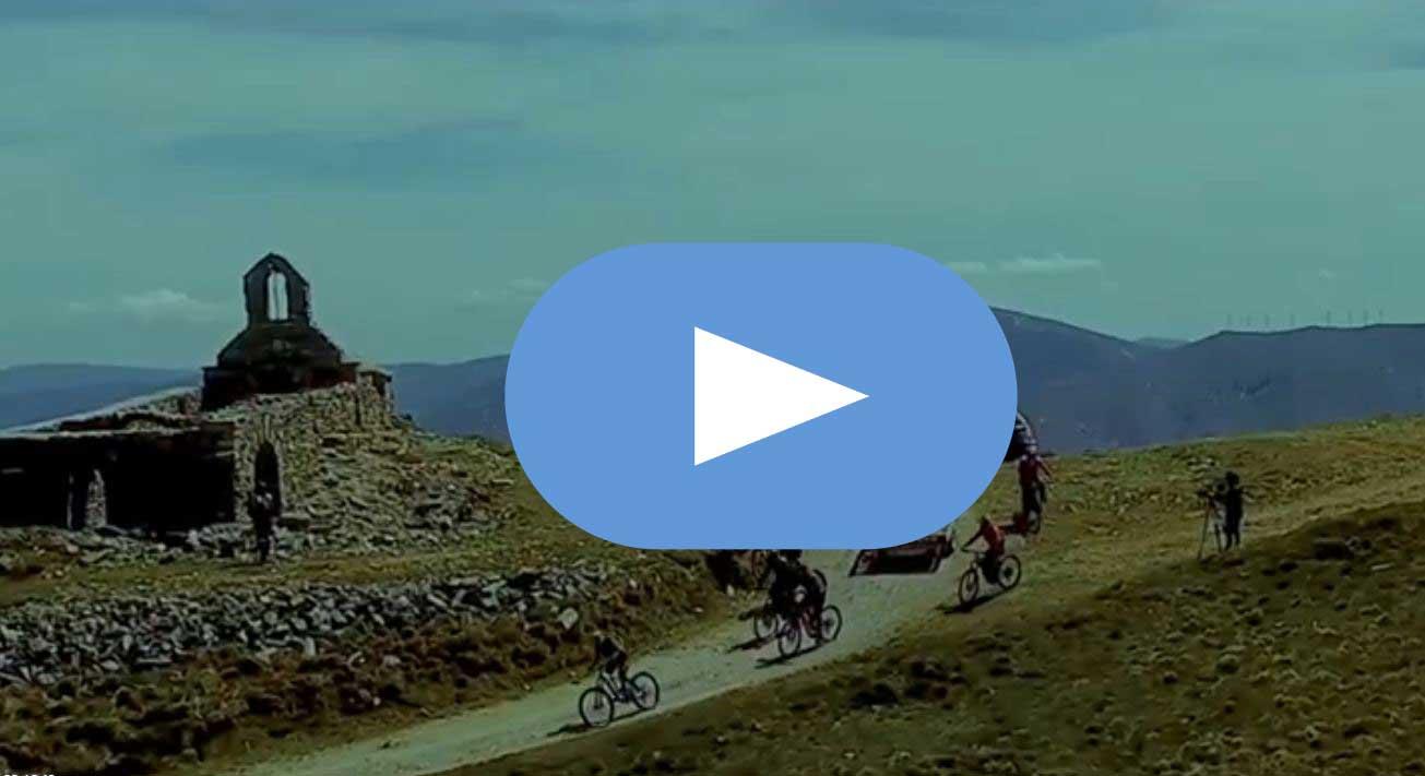 Jesús Calleja muestra en un vídeo un aperitivo del capítulo de Volando Voy en el Bierzo 1