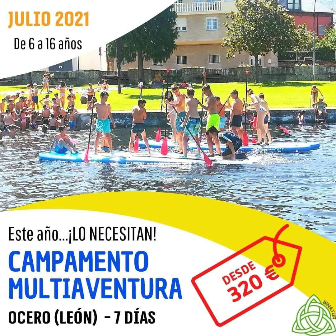 Campamentos y Campus de verano 2021 en Ponferrada y El Bierzo 14