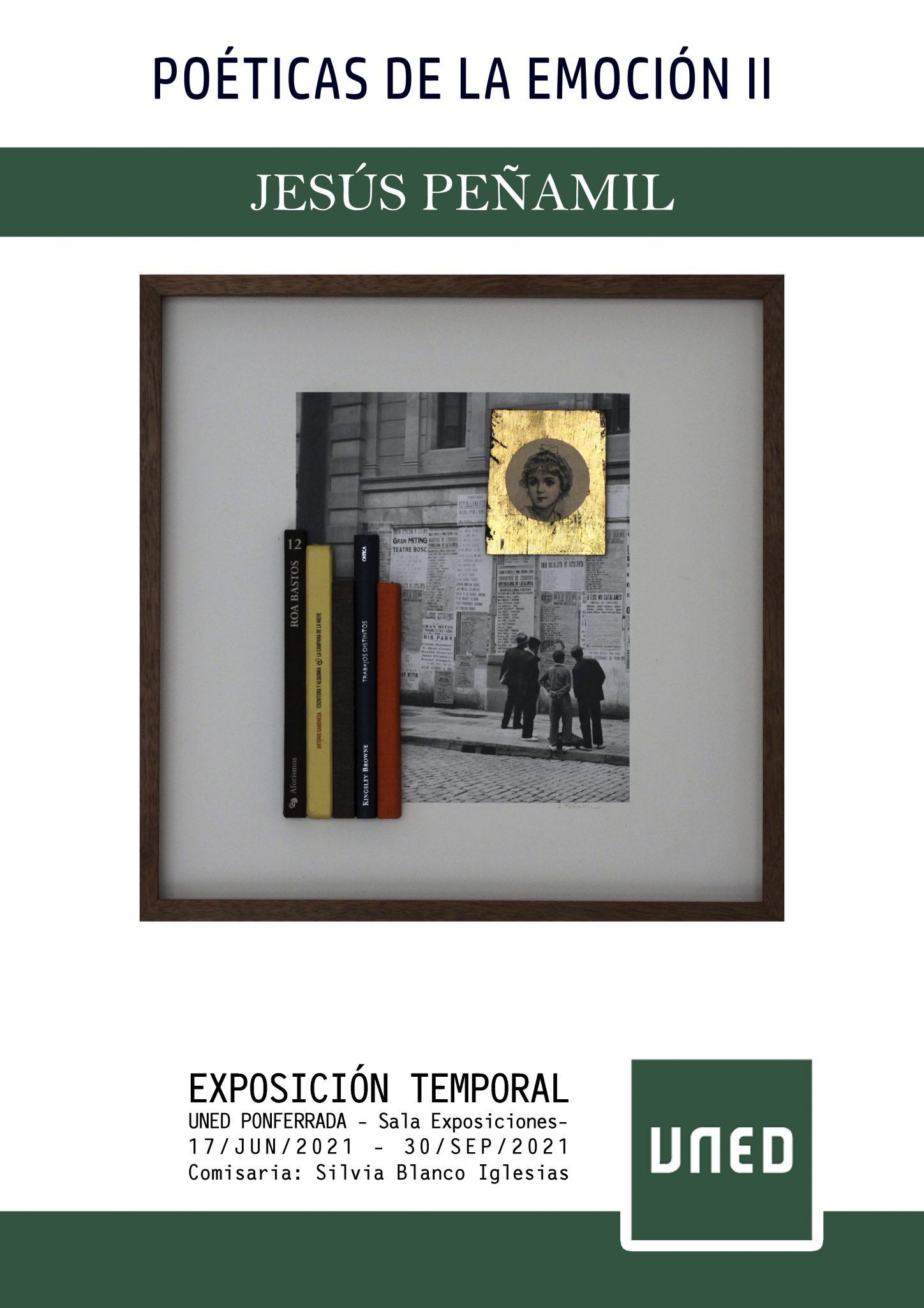 Exposición de Jesús Peñamil en las instalaciones de la UNED de Ponferrada 2