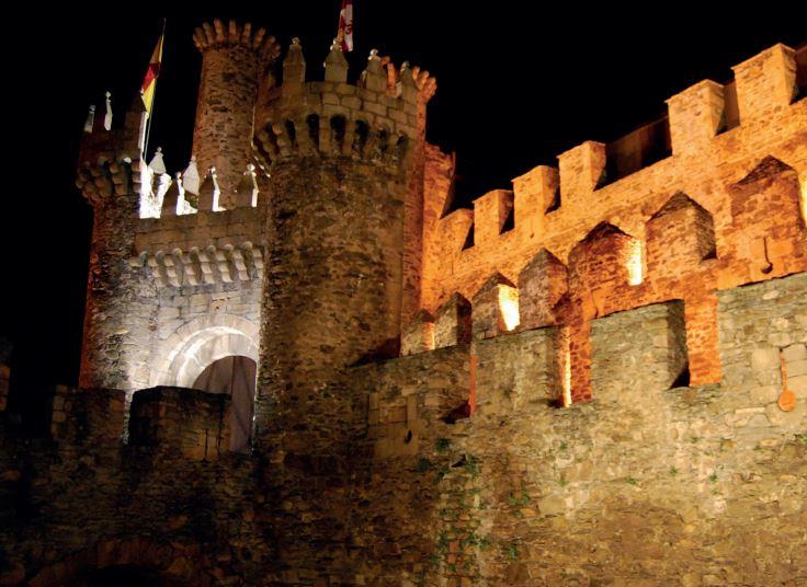 Ponferrada proyectará un videomapping sobre la fachada del Castillo 1