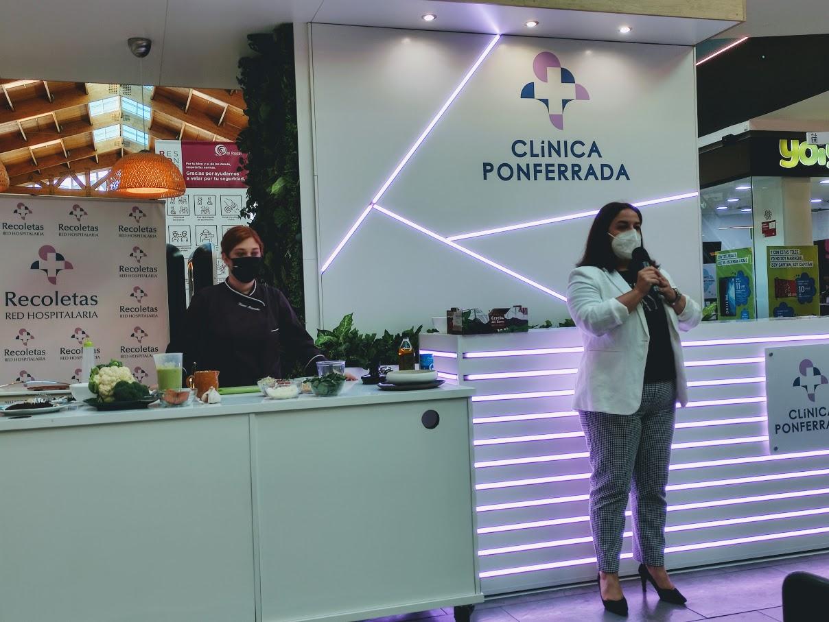 Clínica Ponferrada organiza este viernes una actividad de fisioterapia en su stand en El Rosal 1