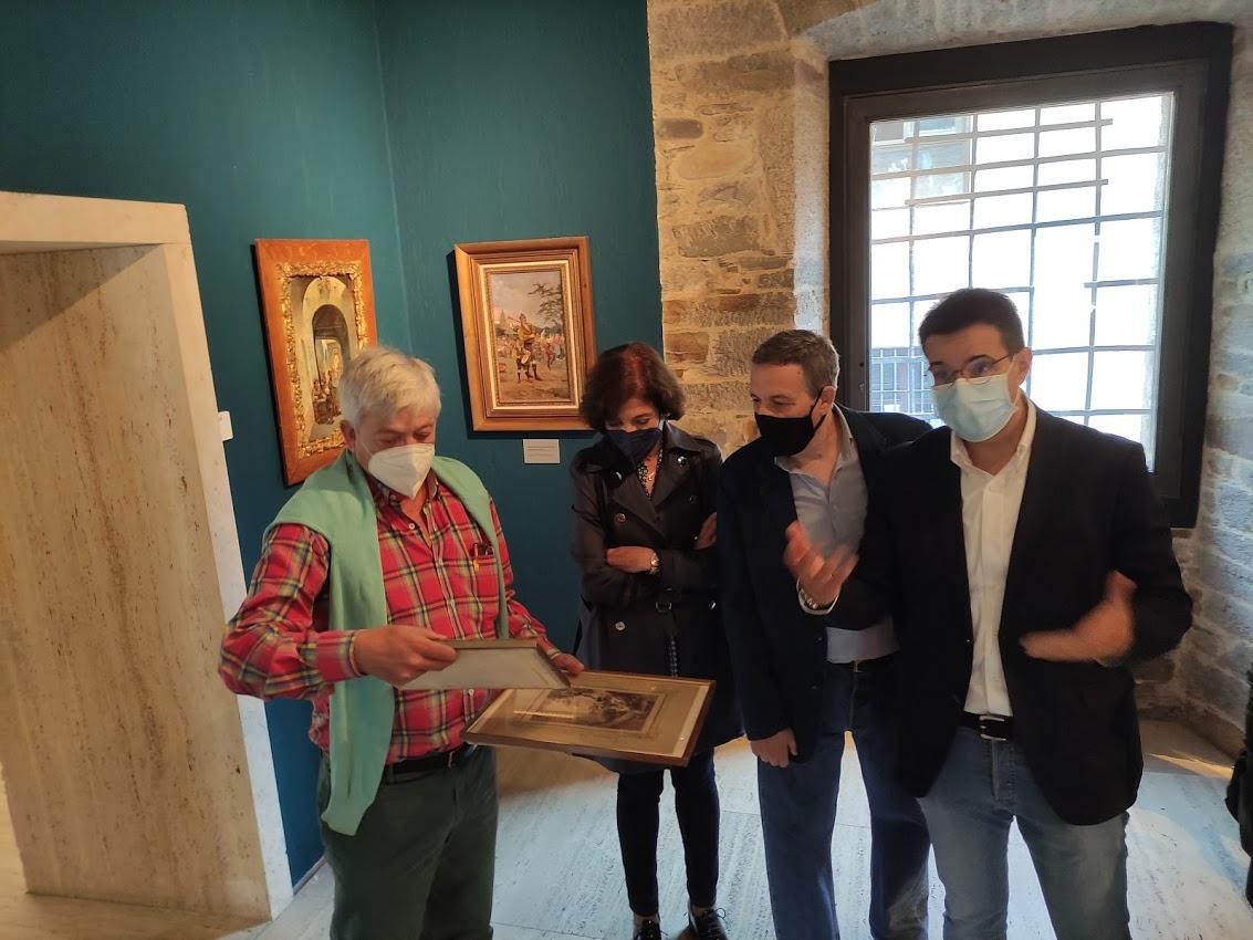 El Museo del Bierzo abre la sala dedicada al siglo XIX en la que se disfruta de la mayor colección de obras del berciano Primitivo Álvarez Armesto 1