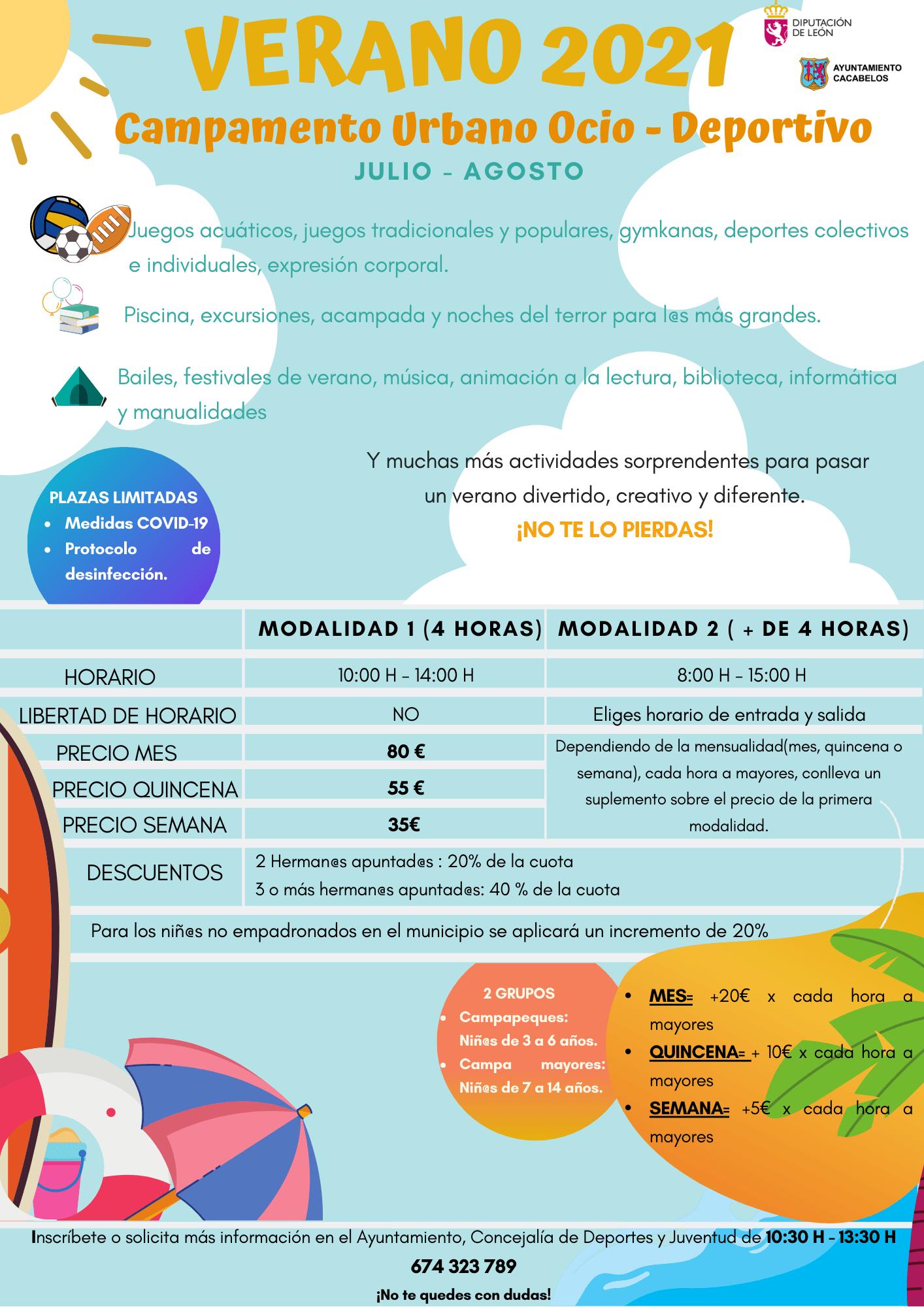 Campamentos y Campus de verano 2021 en Ponferrada y El Bierzo 17