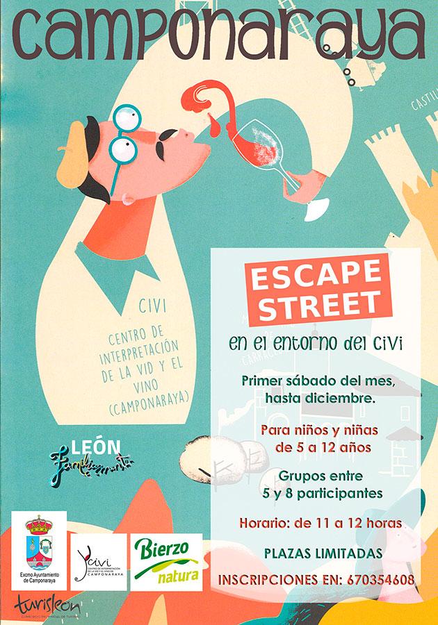 Escape Street, diversión para toda la familia en el Civi de Camponaraya 2