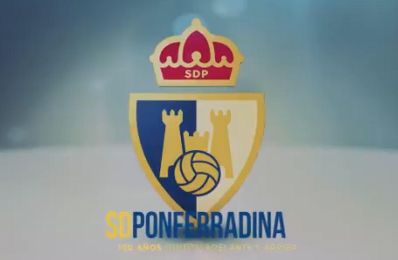 La Ponferradina estrena nuevo escudo para celebrar el centenario 1
