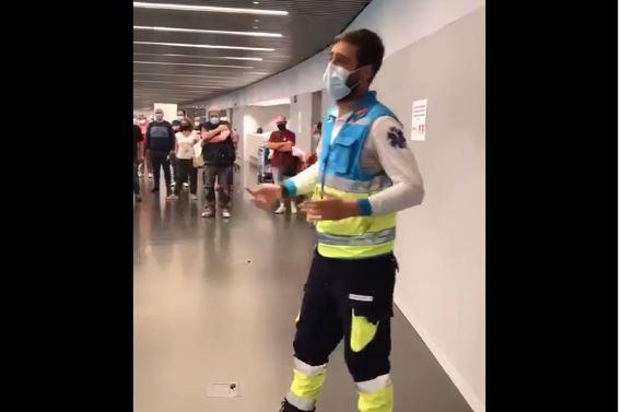 Jorge, el enfermero de origen berciano trabajador del Summa 112 que se ha hecho viral por su monólogo sobre las vacunaciones 1