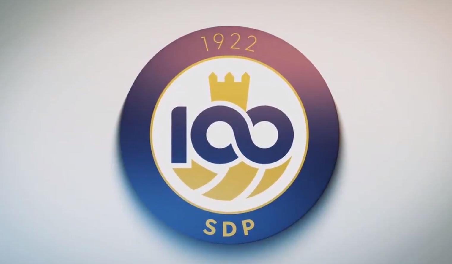 La Ponferradina presenta el símbolo que representará al club durante el centenario 1