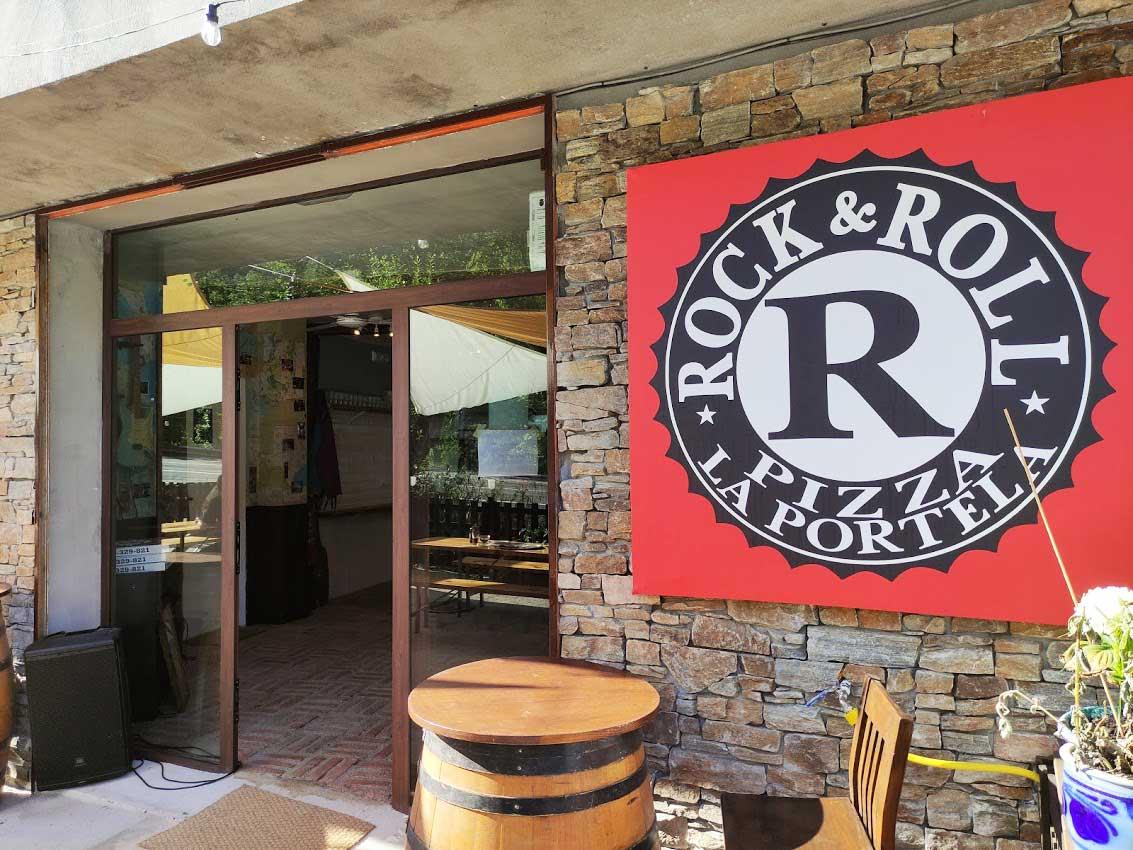 David y Petra de EEUU al Bierzo con Rock&Roll Pizza 9