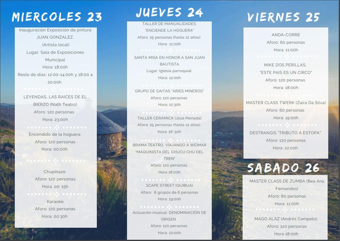 Qué puedes hacer la noche de San Juan 2021 en el Bierzo 3