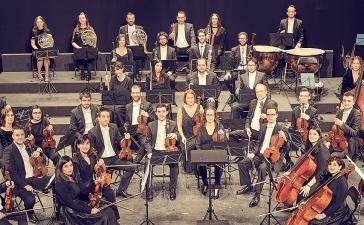 Concierto de la Orquesta Sinfónica Cristóbal Halfter en el Teatro Bergidum 9