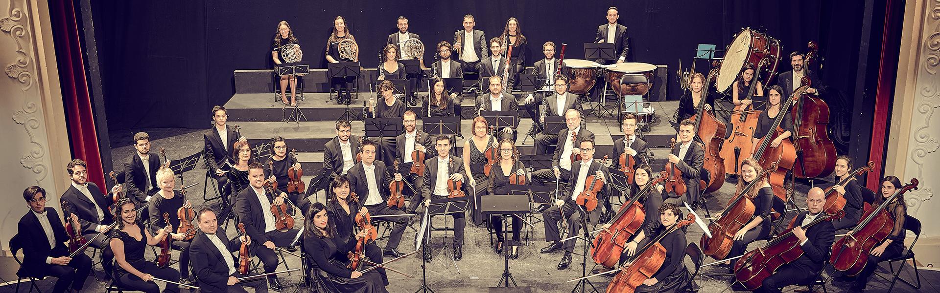 Concierto de la Orquesta Sinfónica Cristóbal Halfter en el Teatro Bergidum 1