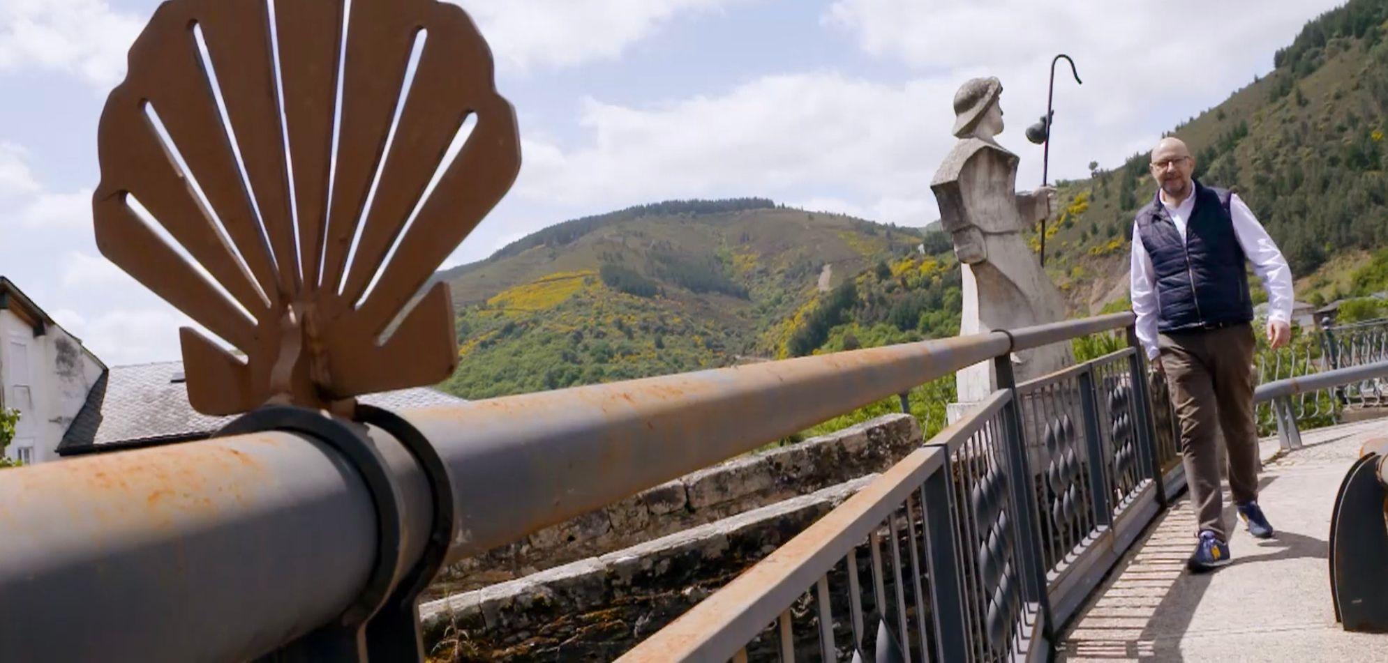 Viajeros Cuatro emite el viernes un programa dedicado al Camino de Santiago que arrancará en Villafranca del Bierzo 5