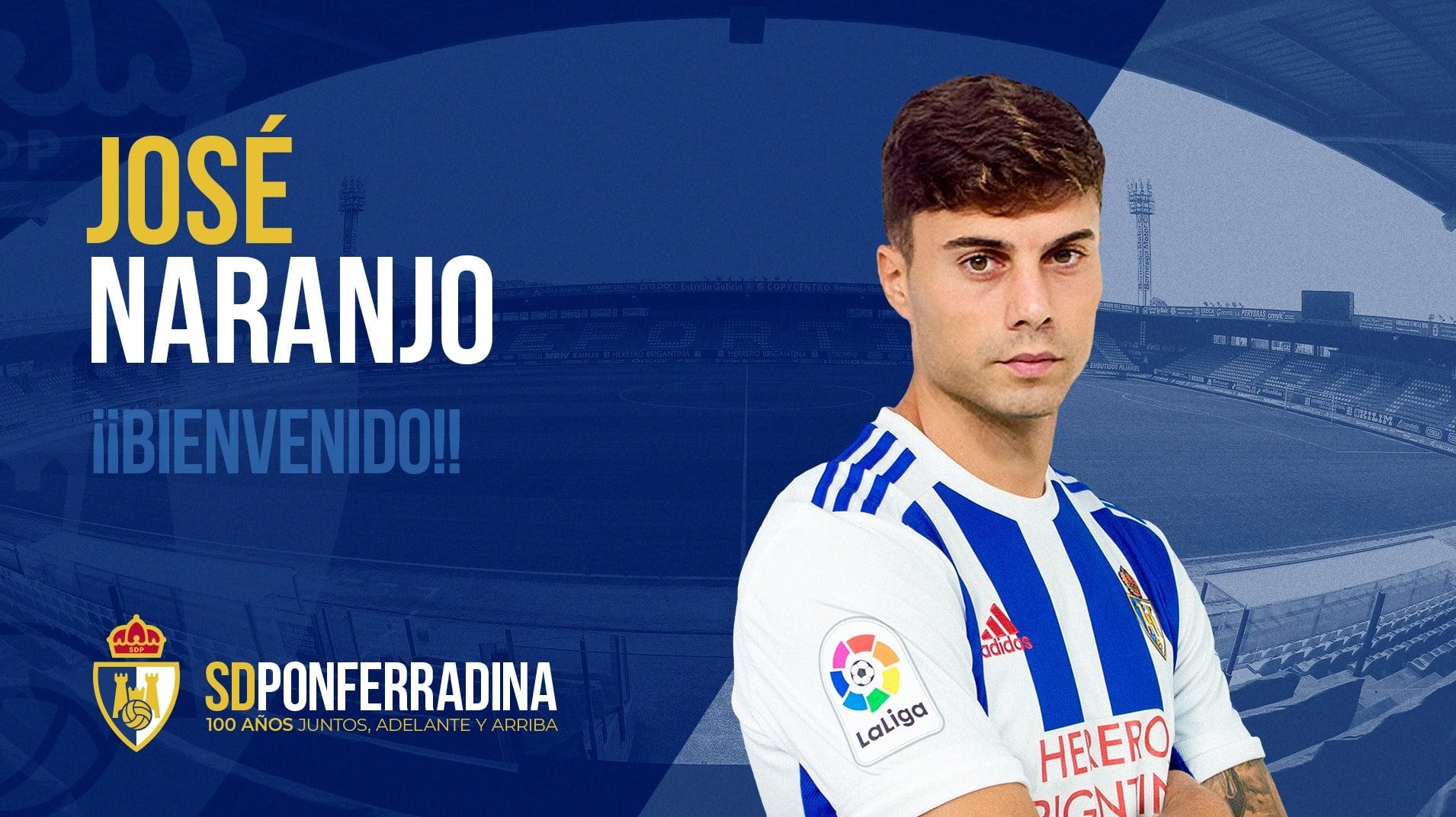 José Naranjo se une al ataque de la SD Ponferradina 1