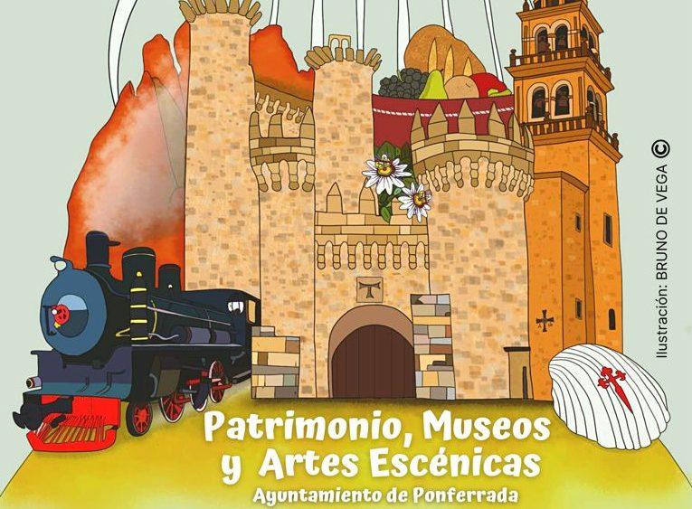 """El Castillo y los museos de Ponferrada inician la programación """"Presencias: Patrimonio, Museos y Artes Escénicas"""" 1"""