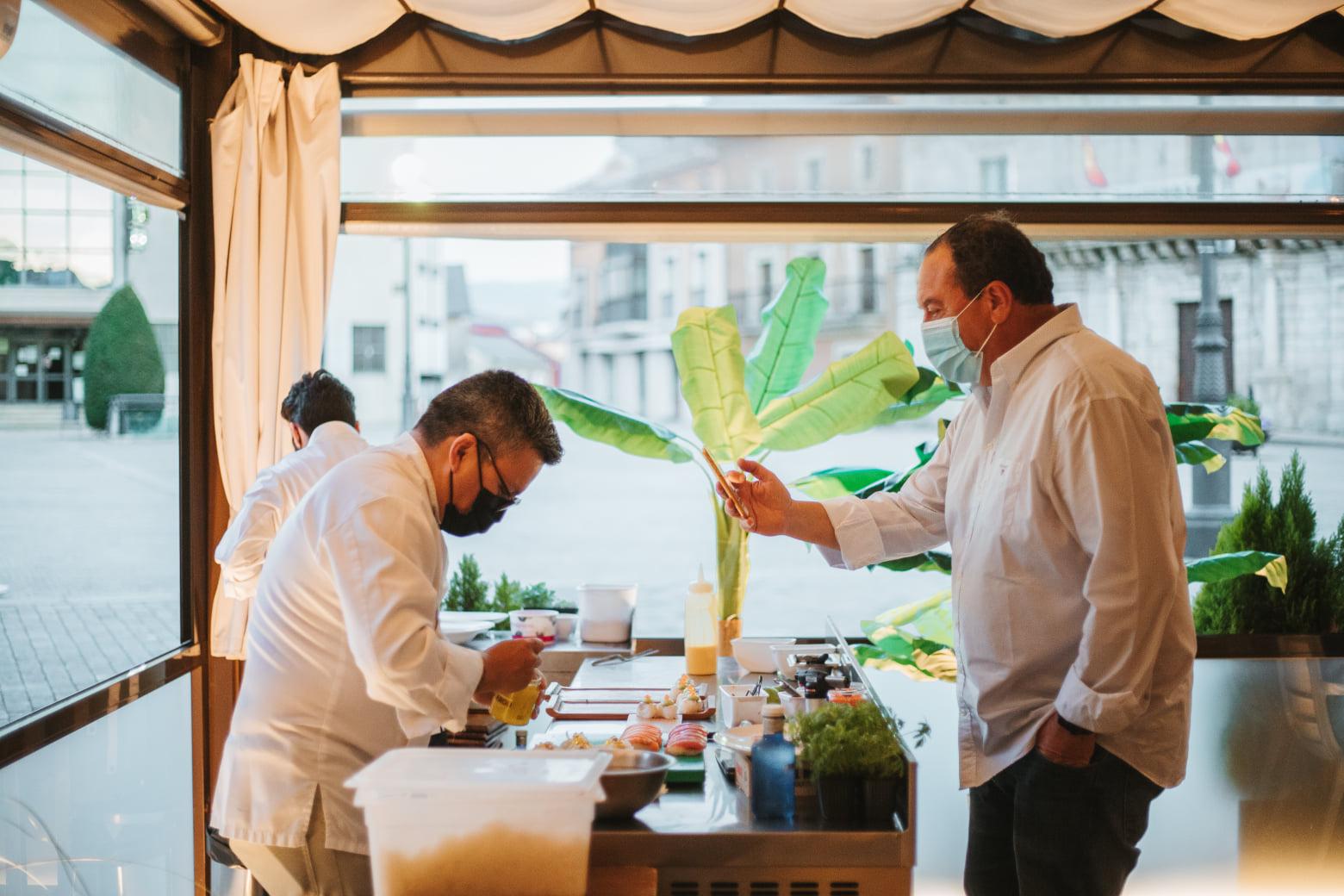La noche de cocina Nikkei en el restaurante La Violeta, un evento culinario de primer nivel 36