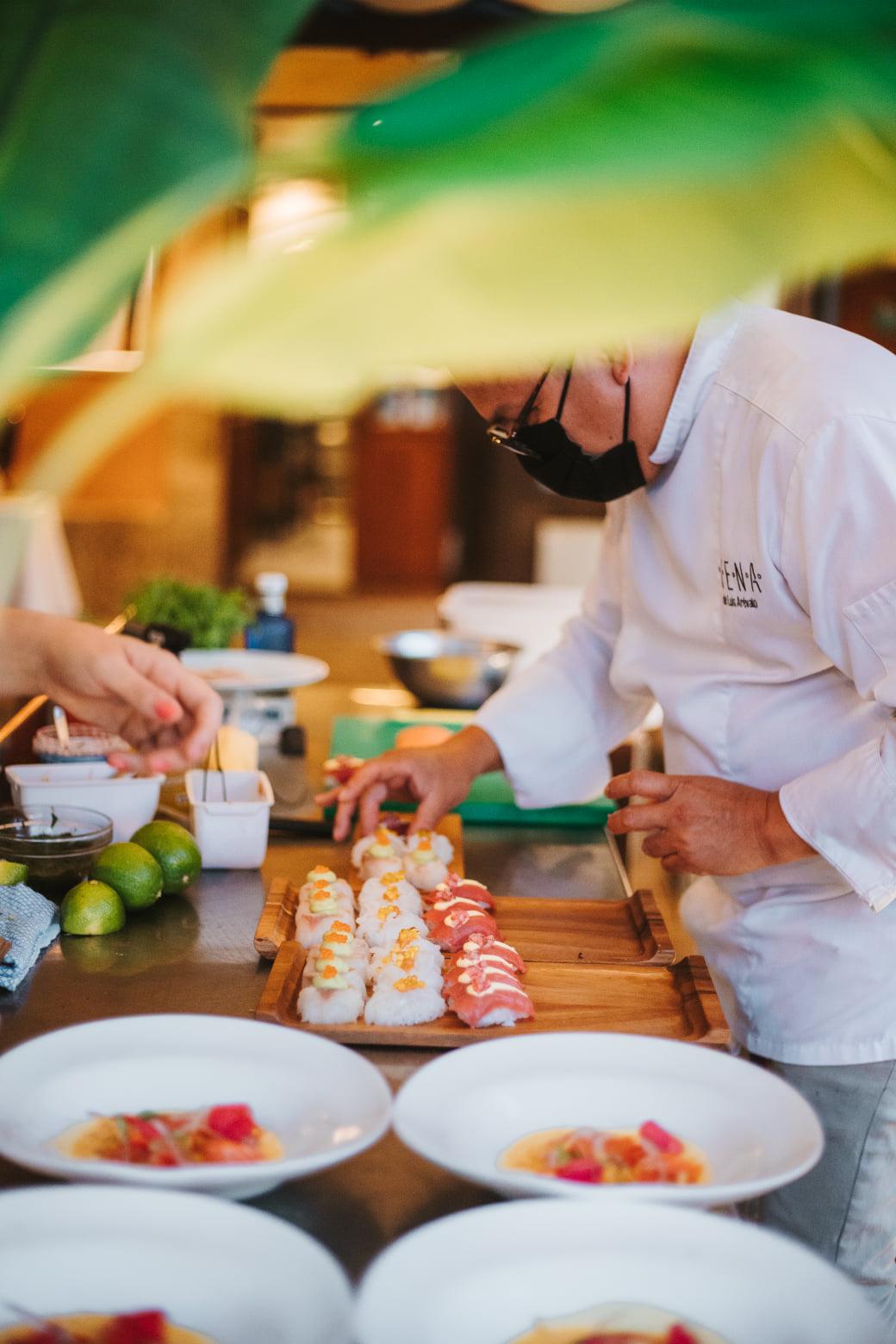 La noche de cocina Nikkei en el restaurante La Violeta, un evento culinario de primer nivel 38
