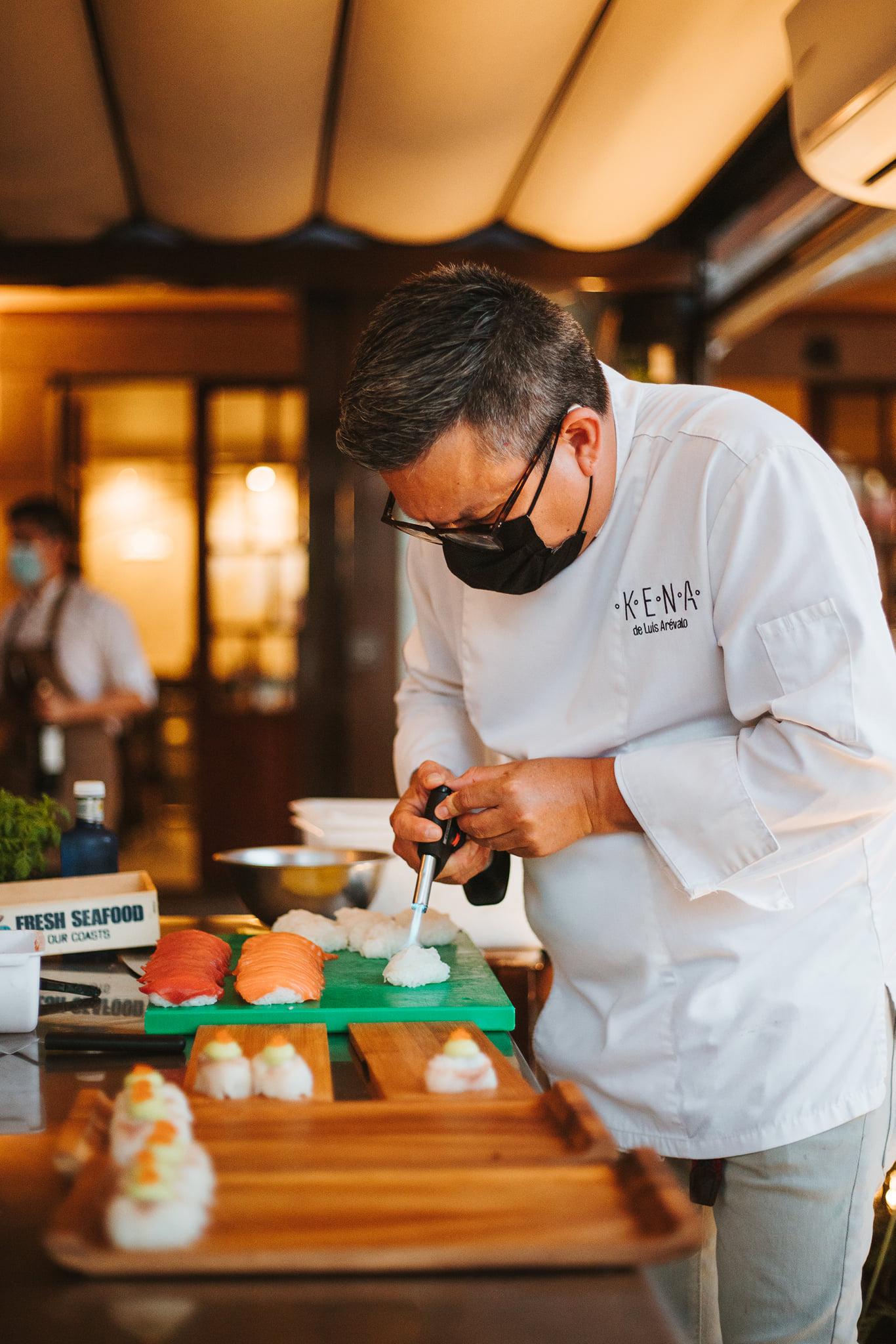La noche de cocina Nikkei en el restaurante La Violeta, un evento culinario de primer nivel 31