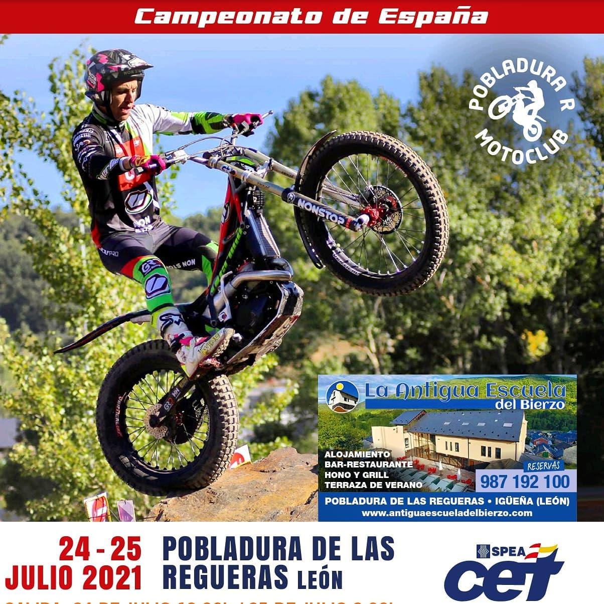 Pobladura de las Regueras recibe este fin de semana el Campeonato de España de trial 2