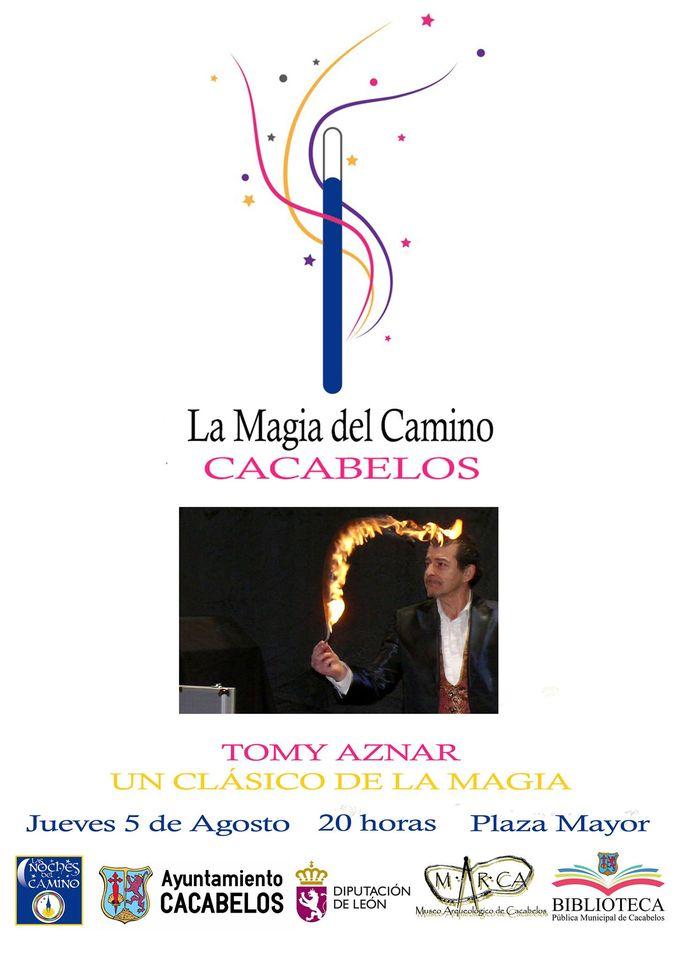Las noches del Camino regresan a Cacabelos a lo largo de agosto con rutas, magia, música y humor 3