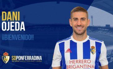 Dani Ojeda se suma a la plantilla de la SD Ponferradina 6