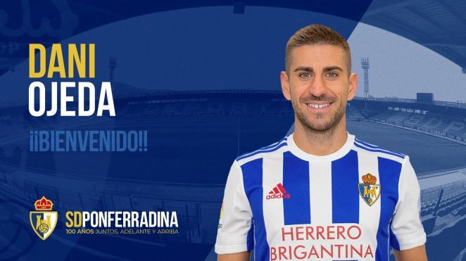 Dani Ojeda se suma a la plantilla de la SD Ponferradina 1
