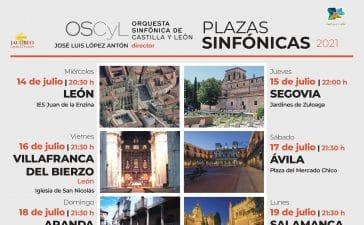 La Orquesta Sinfónica de Castilla y León llegará a Villafranca del Bierzo dentro del ciclo 'Plazas Sinfónicas' con 12 conciertos en las nueve provincias 3