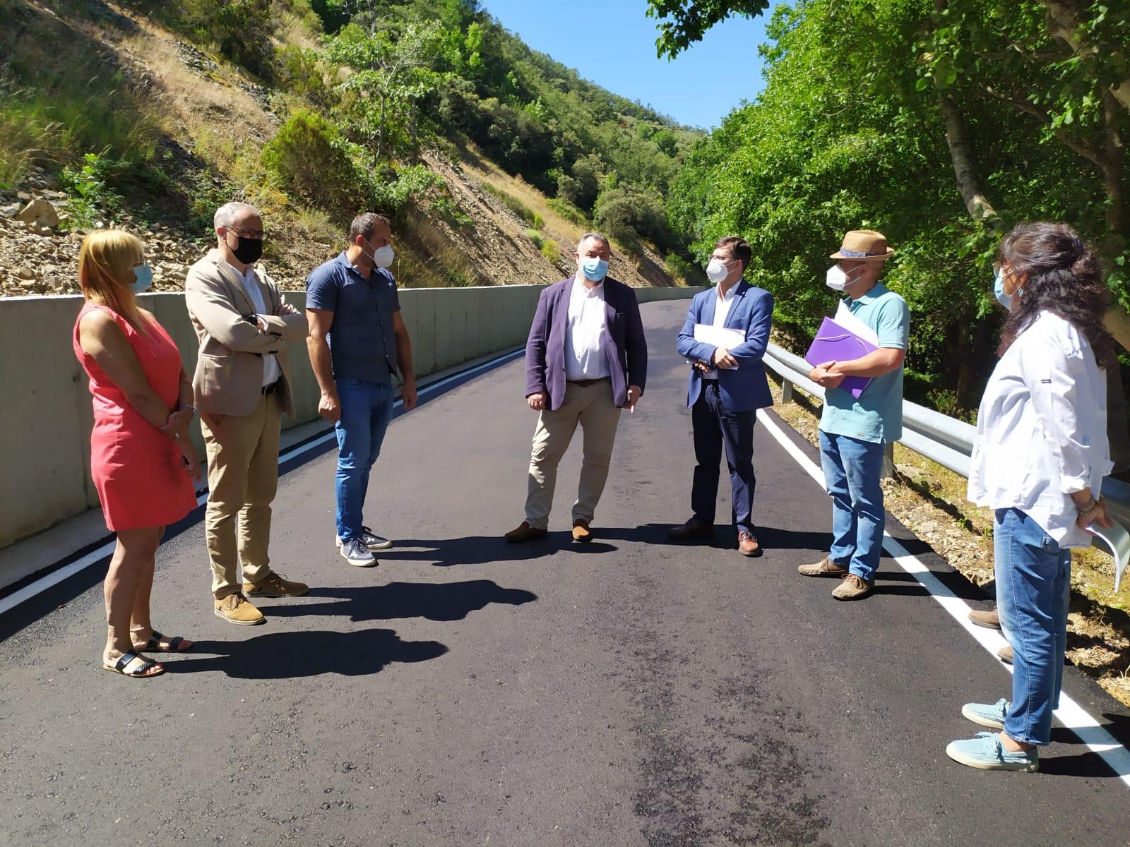 La Diputación renueva la carretera que da acceso a Compludo 1