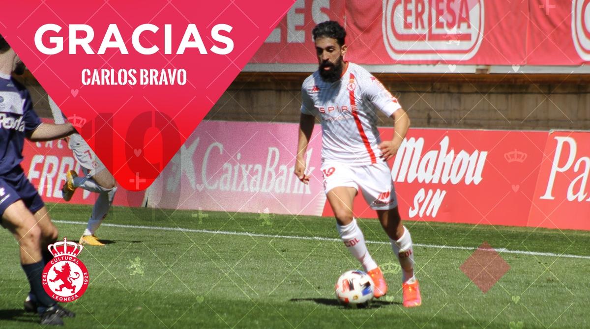 La Cultural y Deportiva Leonesa anuncia un acuerdo con Carlos Bravo para su salida del club 1