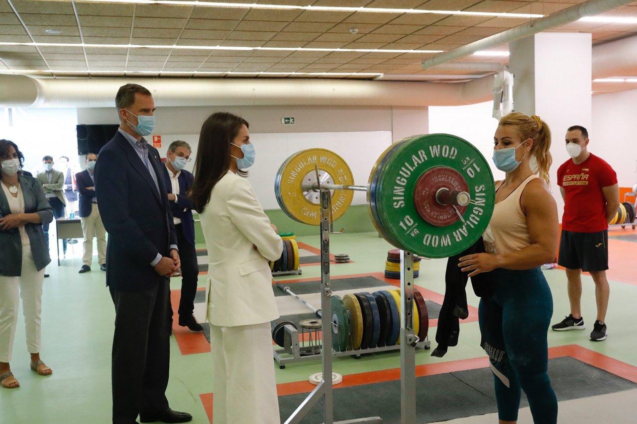 La Casa Real envía ánimos en las redes sociales a la Delegación Olímpica Española con fotos de Lydia Valentín 1