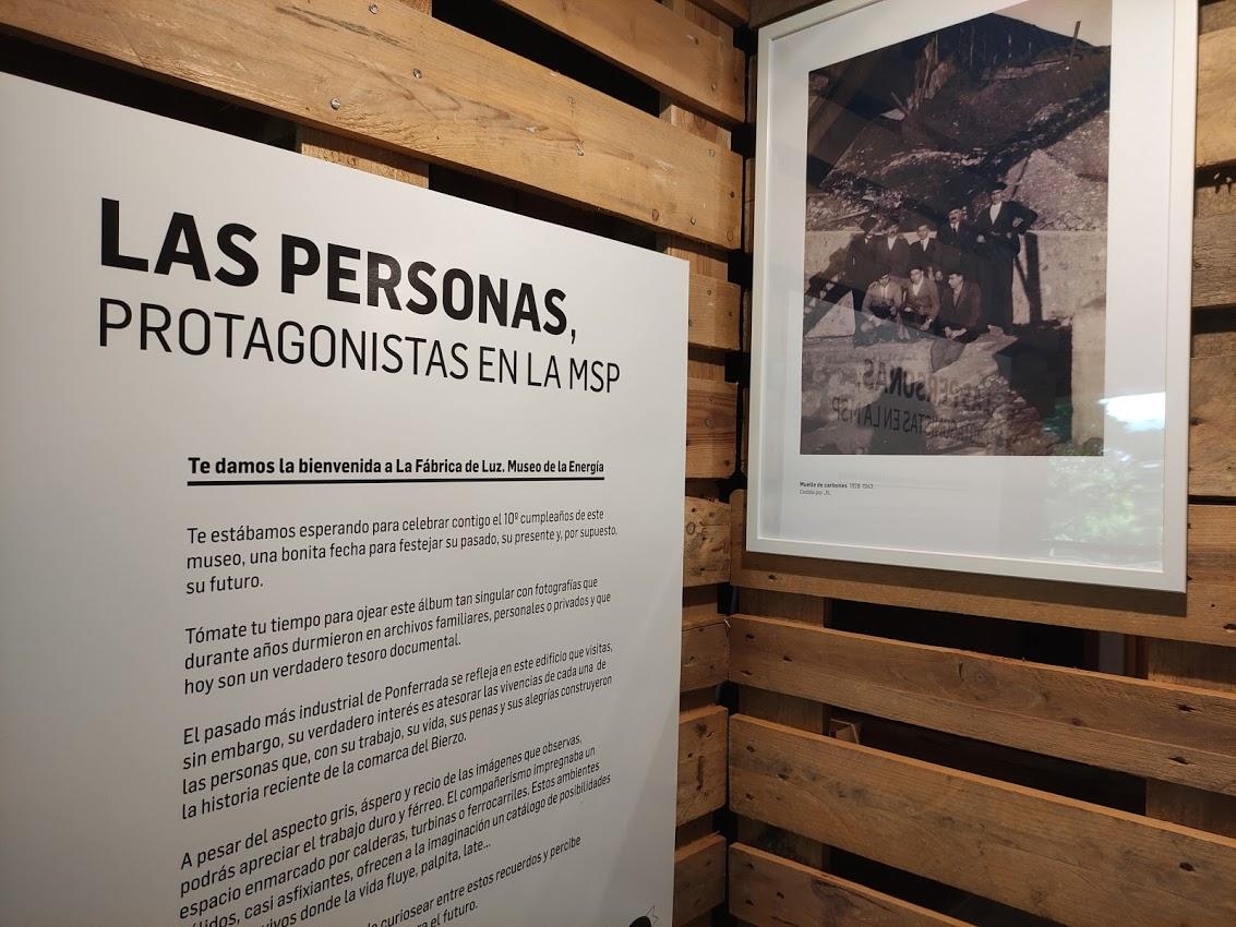 El Museo de la Energía inaugura en su 10º aniversario una exposición-homenaje a las personas que trabajaron en la antigua fábrica de luz 1