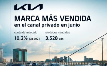 Kia Iberia se posiciona como marca más vendida en el canal de particulares en junio en Península y Baleares 15