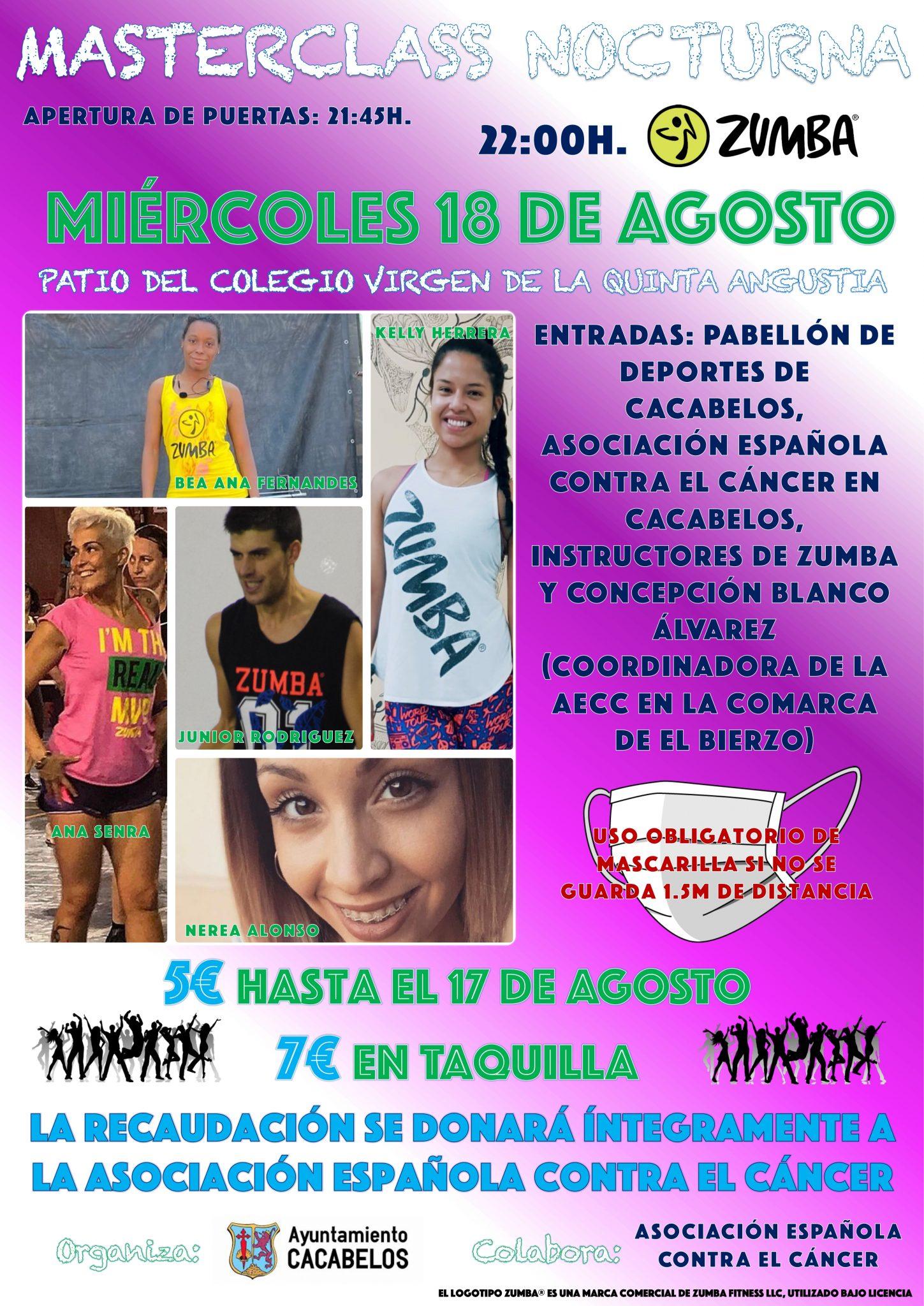 El Zumba más solidario se bailará en Cacabelos para ayudar a la lucha contra el cáncer 3