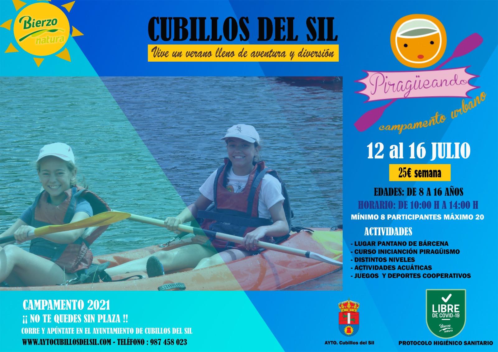 Cubillos del Sil celebra San Cristobal 2021 con actividades para todos del 9 al 12 de julio 2