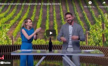 Bierzo Enoturismo protagonista en España Directo de Rtve 4