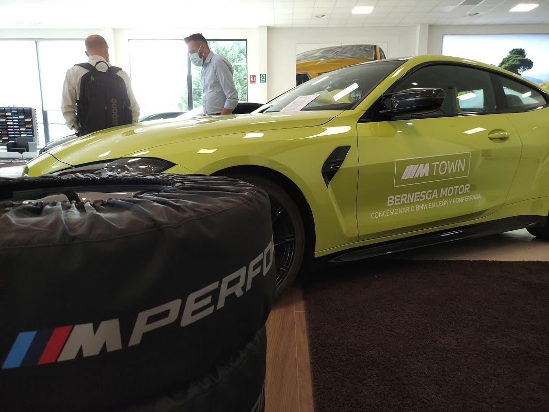 BMW Bernesga Motor trae al Bierzo 4 vehículos de la potente Serie M 12