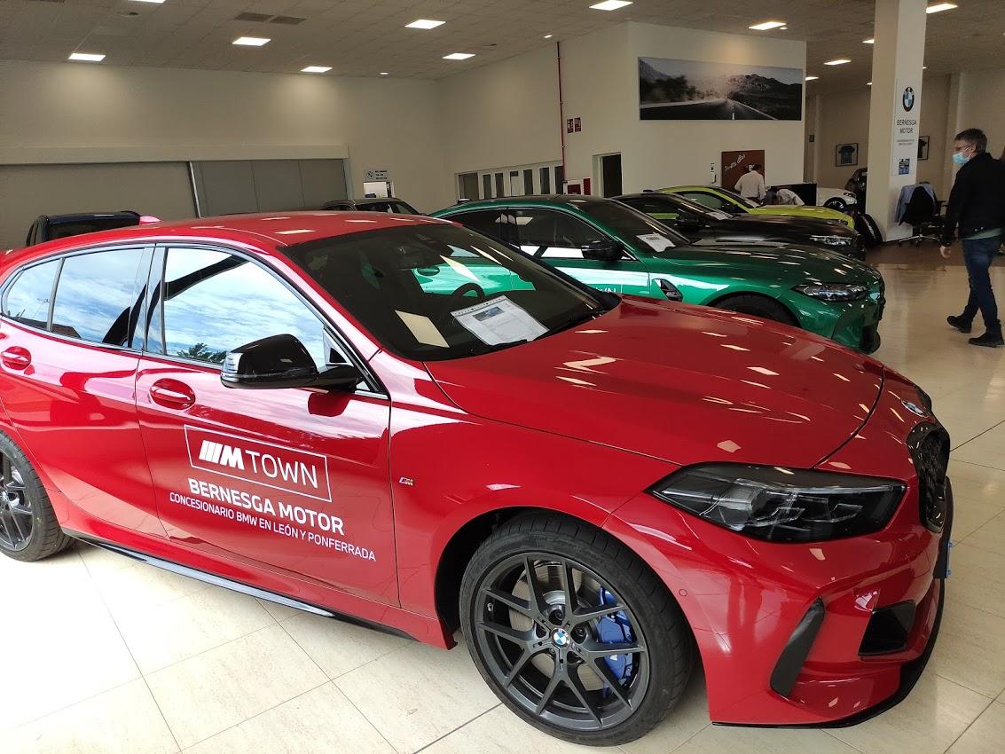 BMW Bernesga Motor trae al Bierzo 4 vehículos de la potente Serie M 10