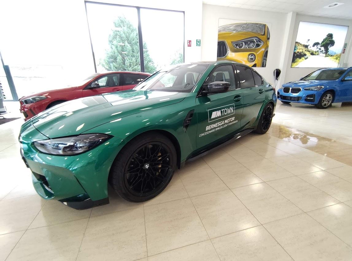 BMW Bernesga Motor trae al Bierzo 4 vehículos de la potente Serie M 7