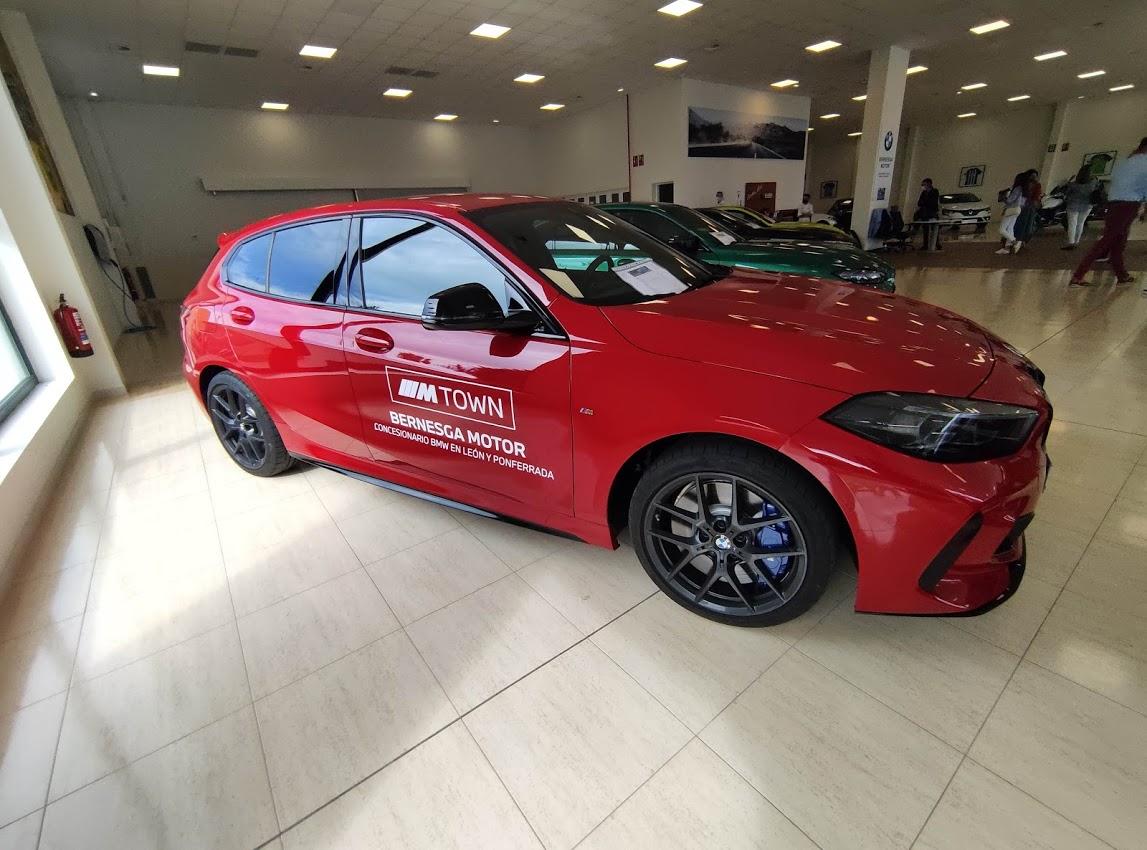 BMW Bernesga Motor trae al Bierzo 4 vehículos de la potente Serie M 6