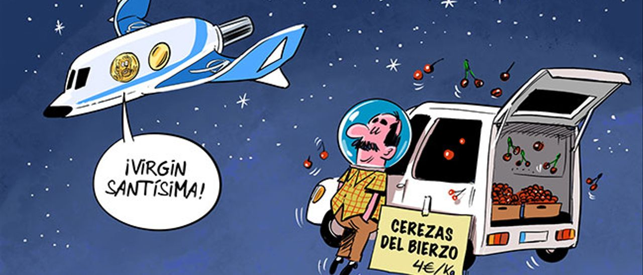 Un berciano adelanta a Richard Branson en la carrera hacia el turismo espacial 2
