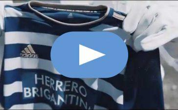 La SD Ponferradina presenta las equipaciones de su centenario 5